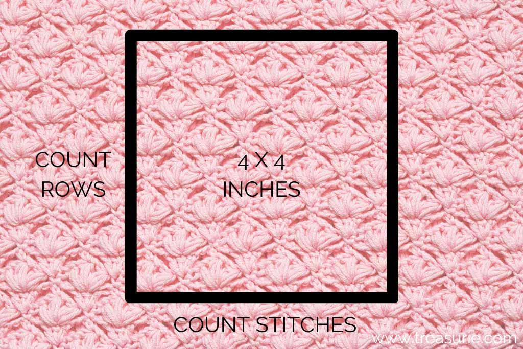 Crochet Hook Sizes - Checking Guage