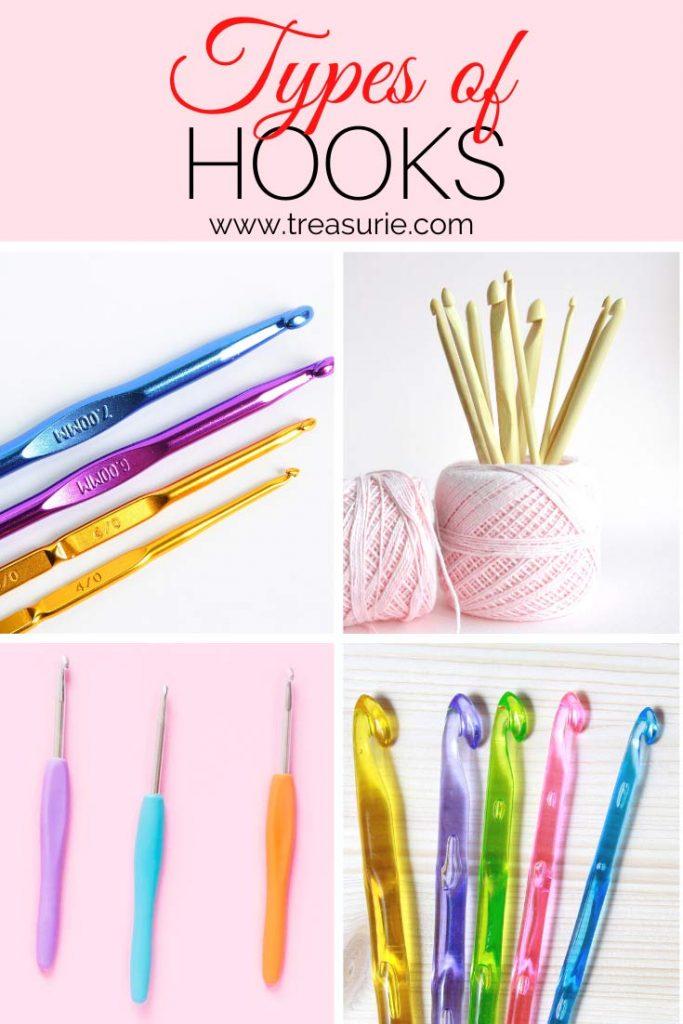 Types of Crochet Hooks