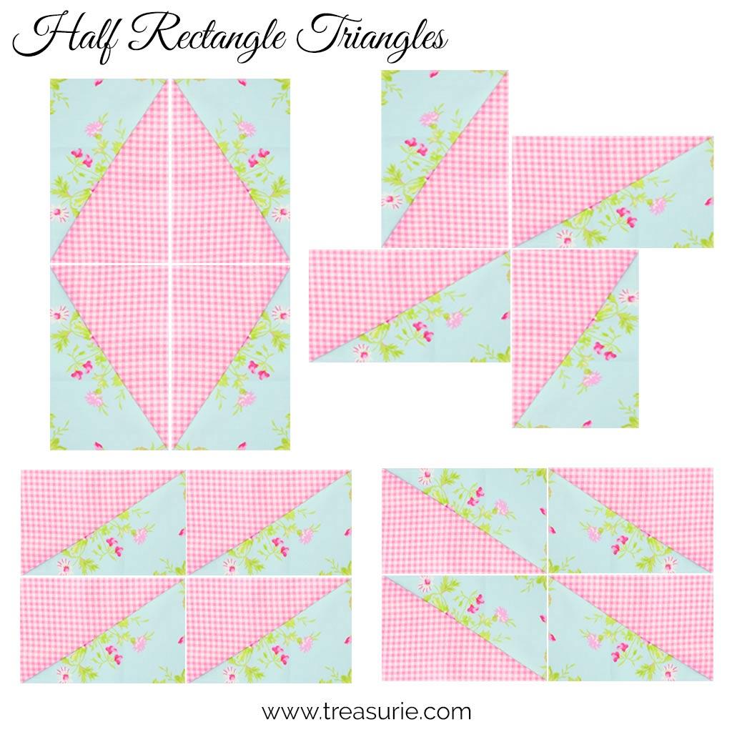 Half Rectangle Triangles - Ideas