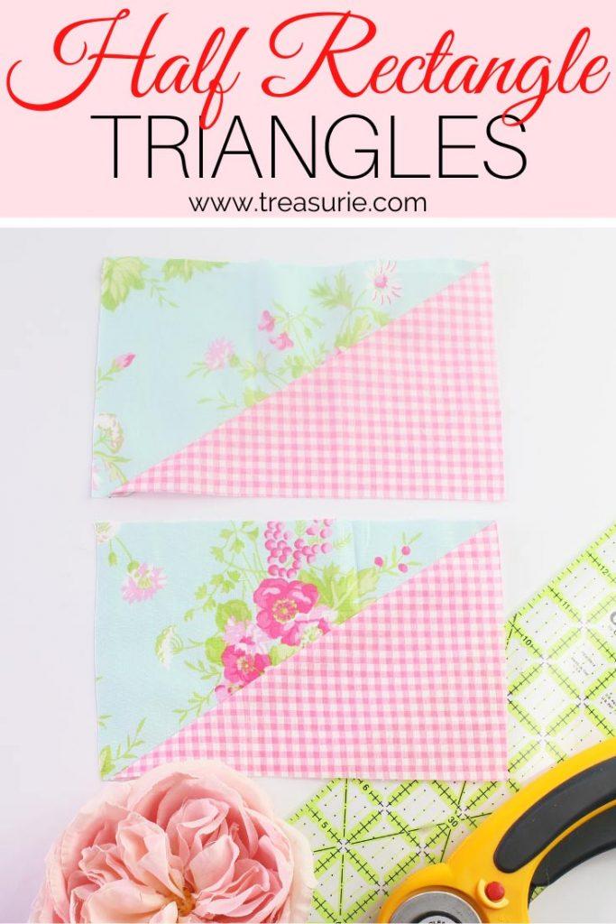 Half Rectangle Triangles