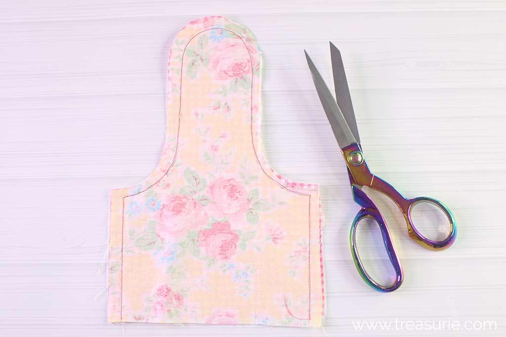 Hand Towel Pattern - Stitching