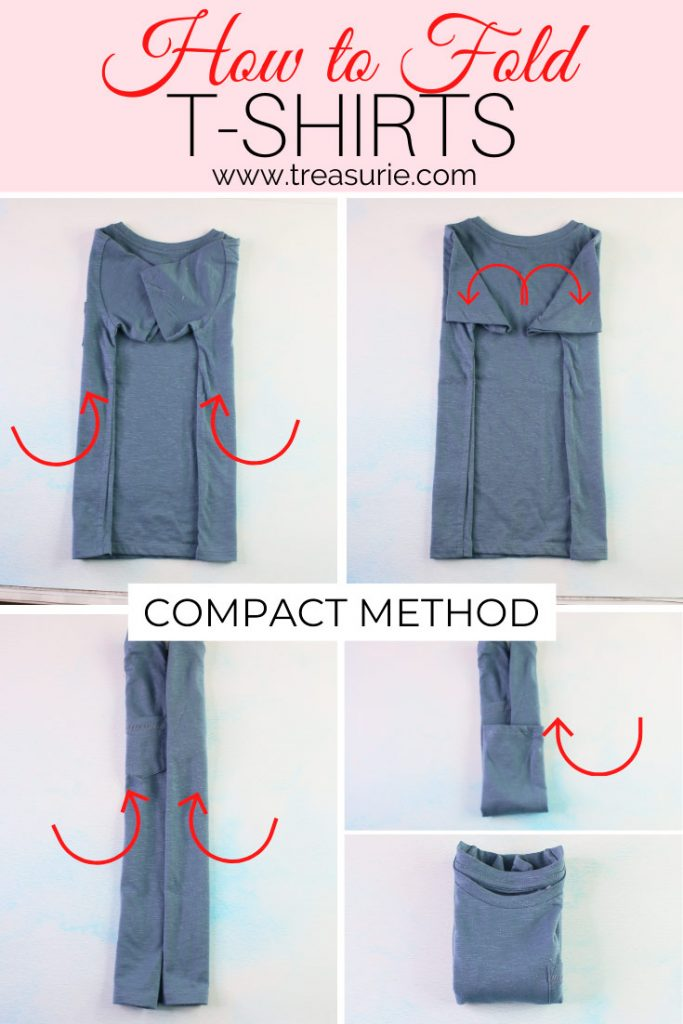 How to Fold a T-Shirt - Compact Method
