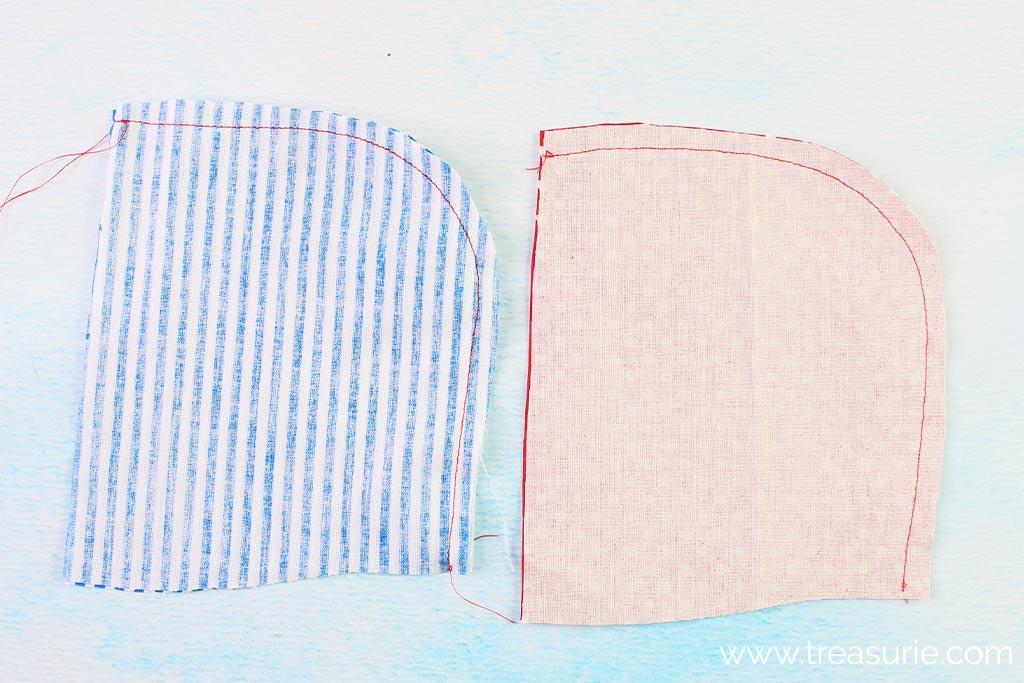 How to Make a Hood - Stitching