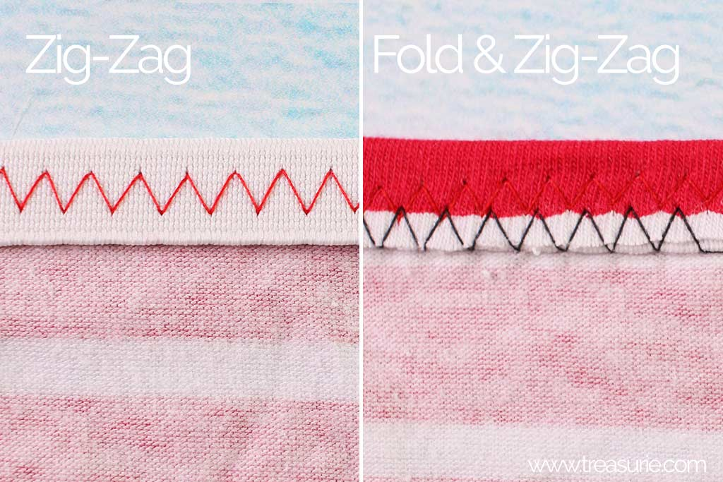 How to Make a Tube Top - Sew the Top Elastic