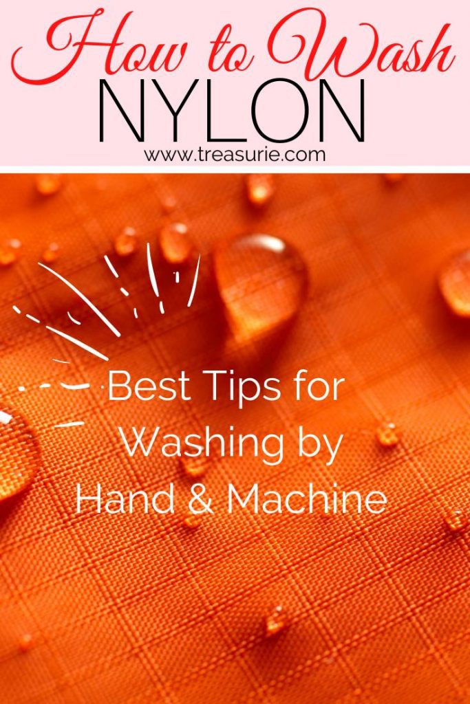 How to Wash Nylon