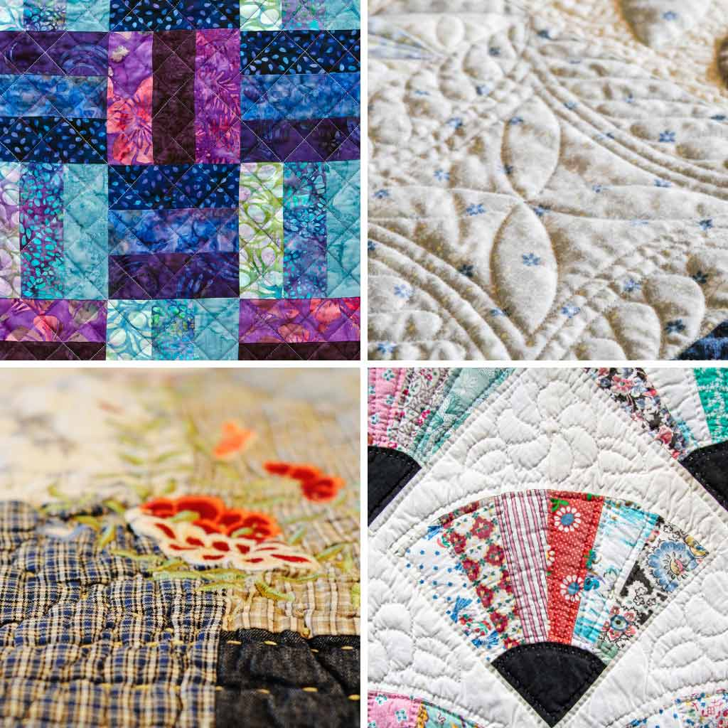 How to Make a Quilt - Stitching