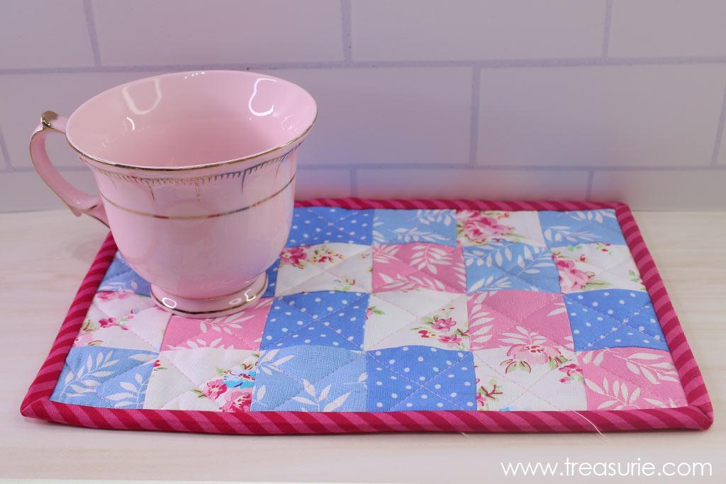 Mug Rug Pattern with Binding
