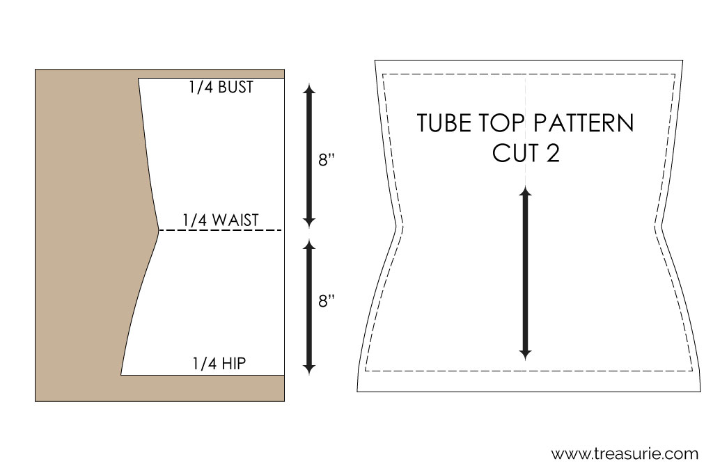 How to Make a Tube Top Pattern