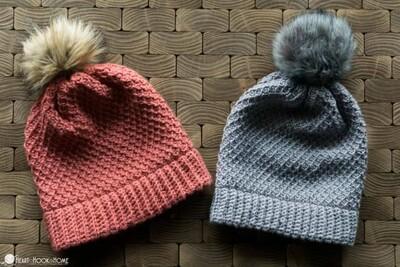 Crochet Beanie Pattern 1