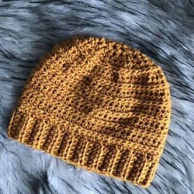 Crochet Beanie Pattern 11