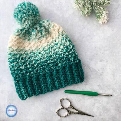 Crochet Beanie Pattern 2