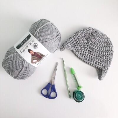 Crochet Beanie Pattern 3