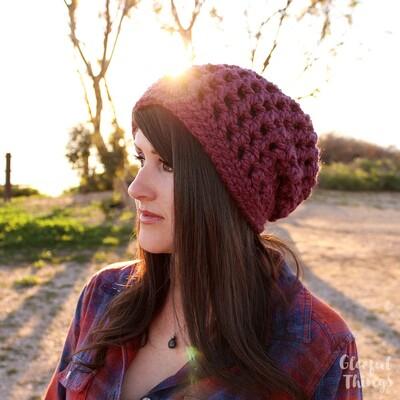 Crochet Beanie Pattern 4