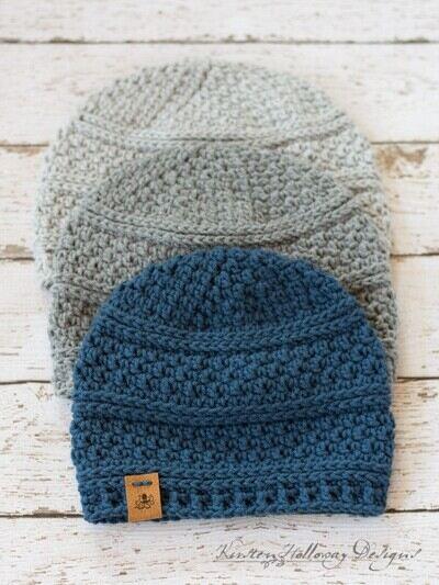 Crochet Beanie Pattern 6