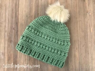 Crochet Beanie Pattern 7