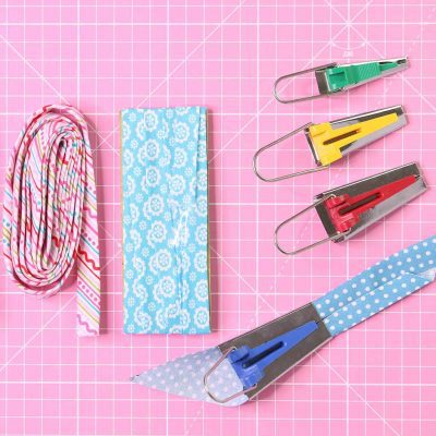How to Use a Bias Tape Maker