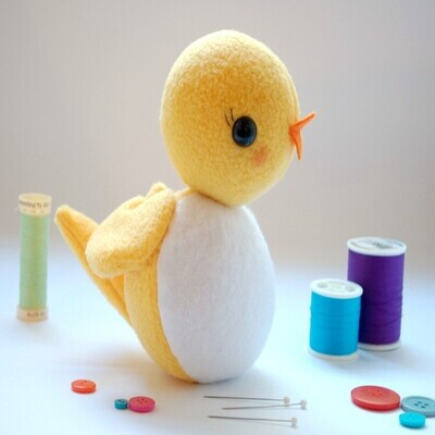 Free Stuffed Animal Patterns from While She Naps