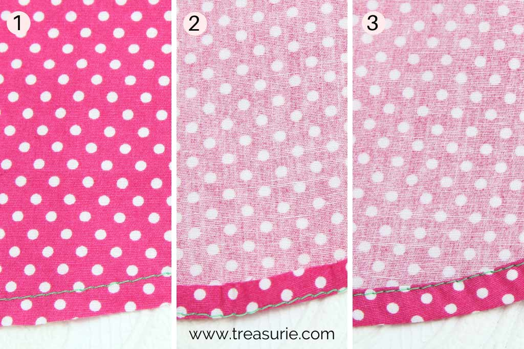 How to Make a Circle Skirt - Hem