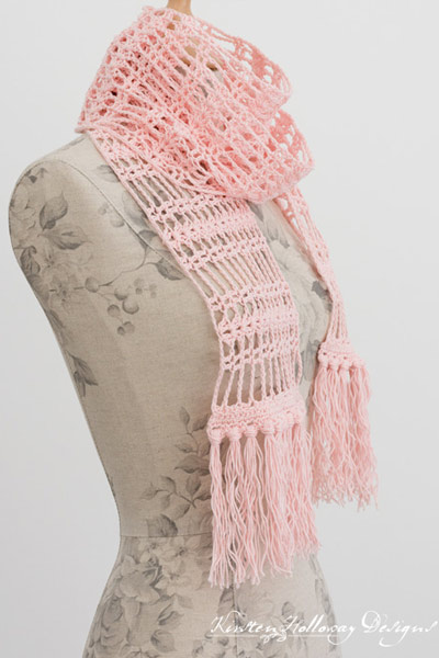 Crochet Scarf Patterns from Kirsten Holloway Designs