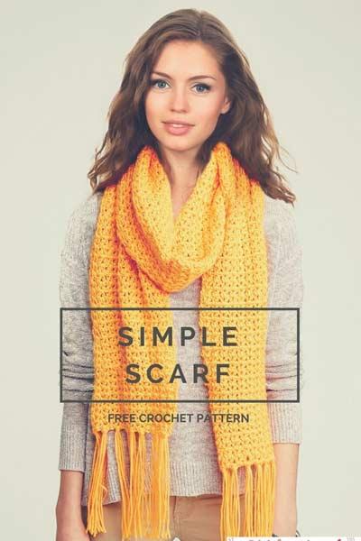 Crochet Scarf Patterns from Stitch & Unwind