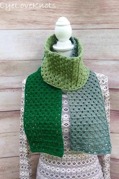 Crochet Scarf Patterns from Eye Love Knots