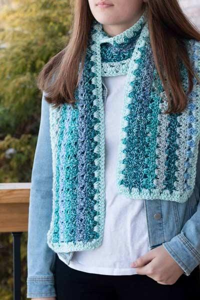 Crochet Scarf Patterns from Easy Crochet