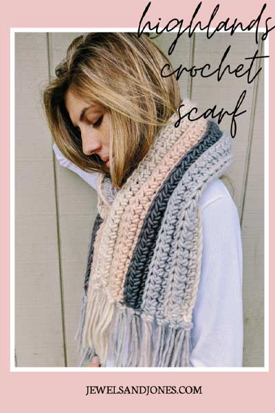 Crochet Scarf Patterns from Jewels and Jones