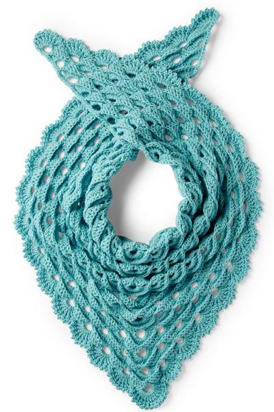 Crochet Scarf Patterns from Yarnspirations