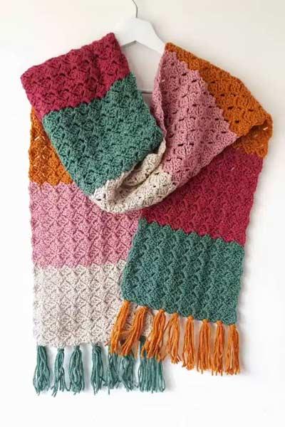 Crochet Scarf Patterns from Annie Design Crochet