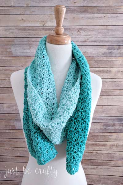 Crochet Scarf Patterns from Just Be Crafty