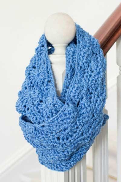 Crochet Scarf Patterns from Hopeful Honey