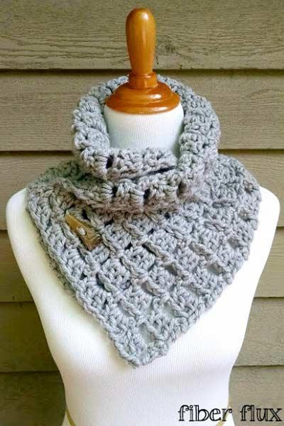 Crochet Scarf Patterns from Fiber Flux