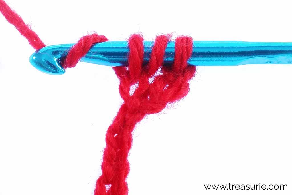 How to Crochet - Yarn Over