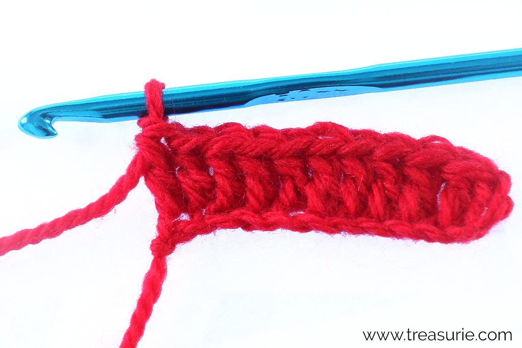 Double Crochet - First Row