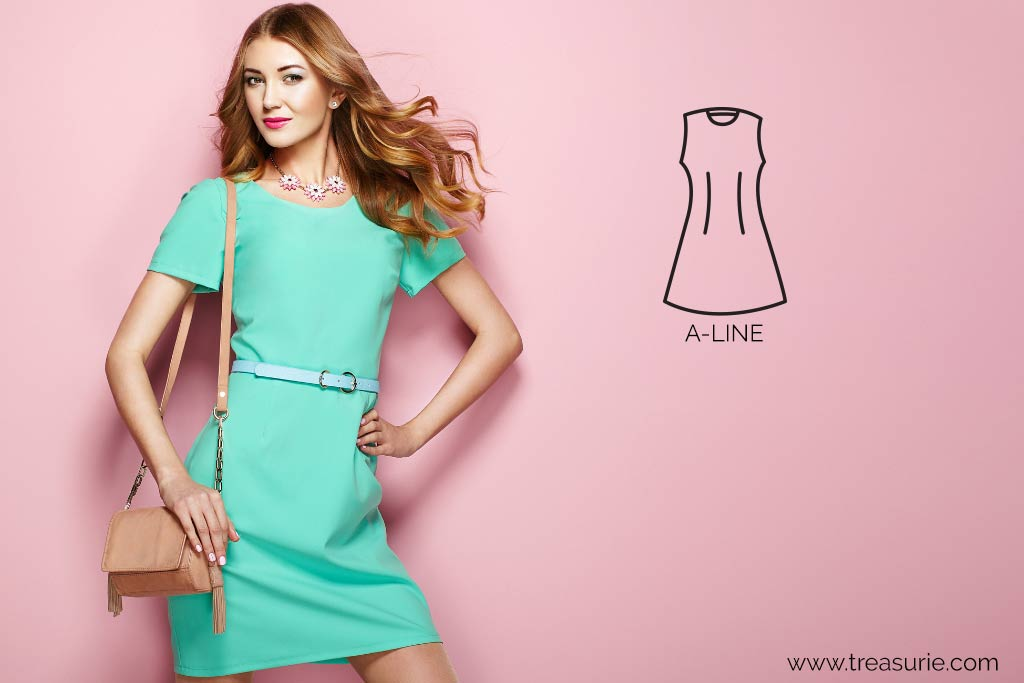 Dress Silhouettes - A Line