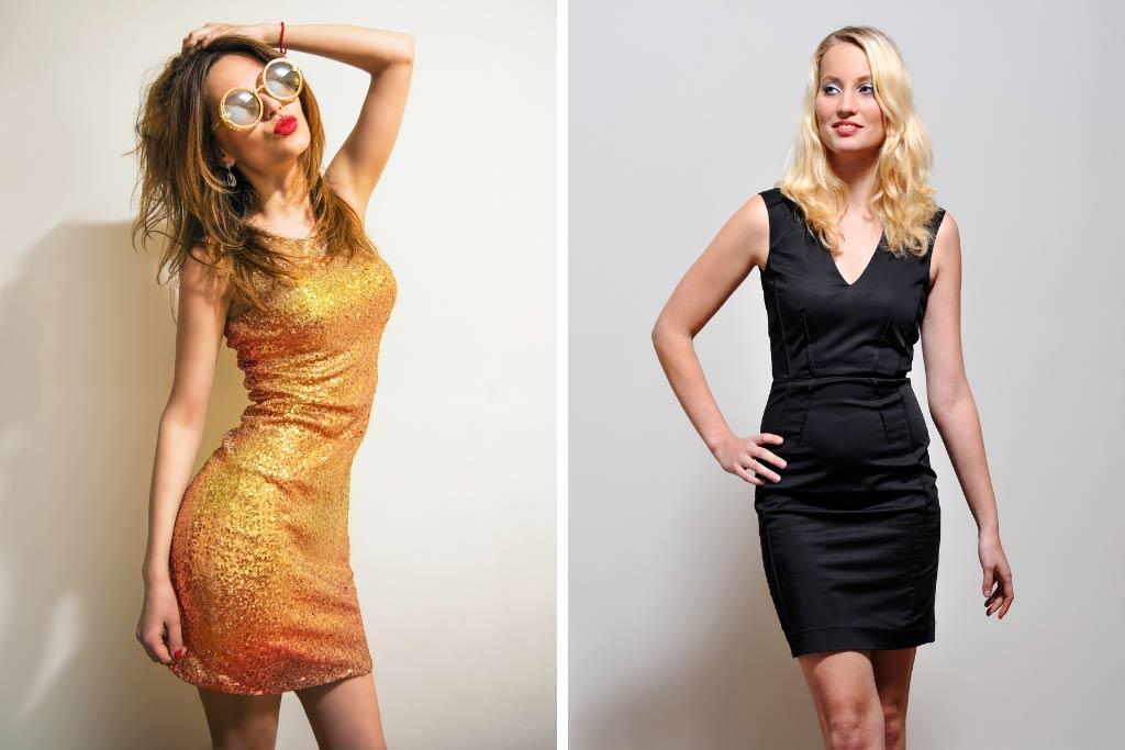 Dress Silhouettes - Pencil