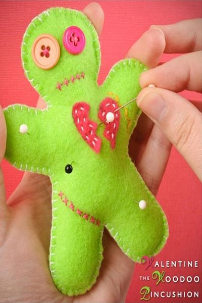 Pincushion Patterns #9 from Wonder How To