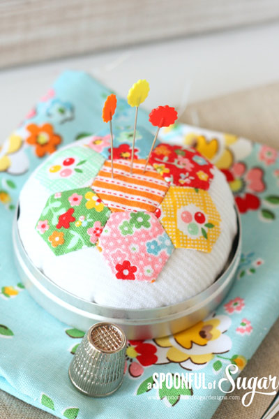 Pin Cushion Pattern 8 from A Spoonful of Sugar