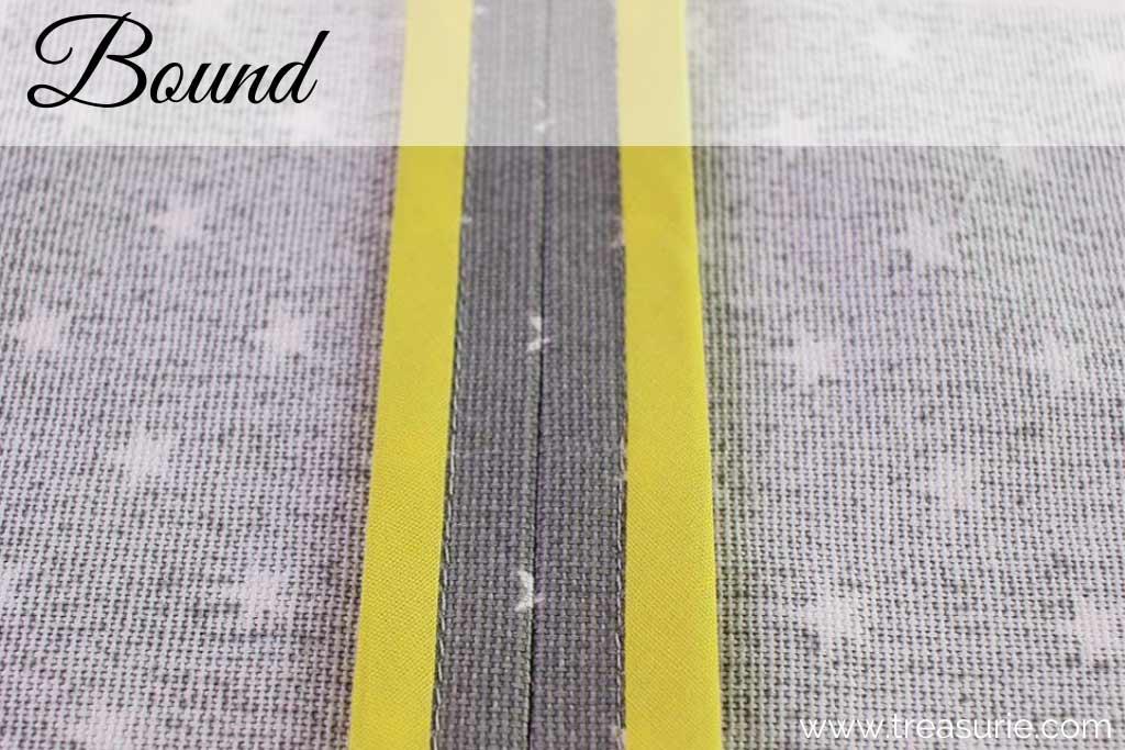 Types of Seams - Bound Seams