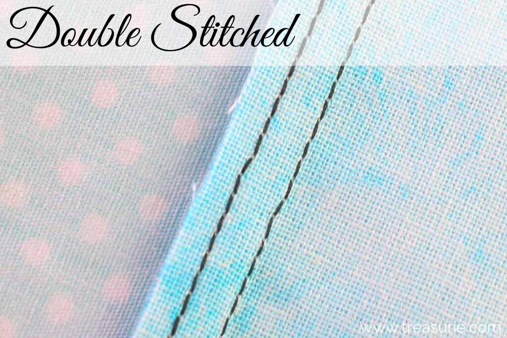 Types of Seams - Double Stitched
