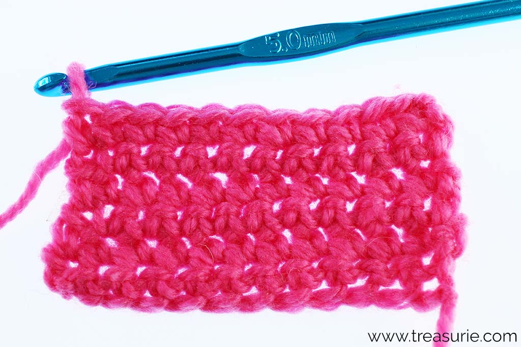 Basic Crochet Stitches - Single Crochet