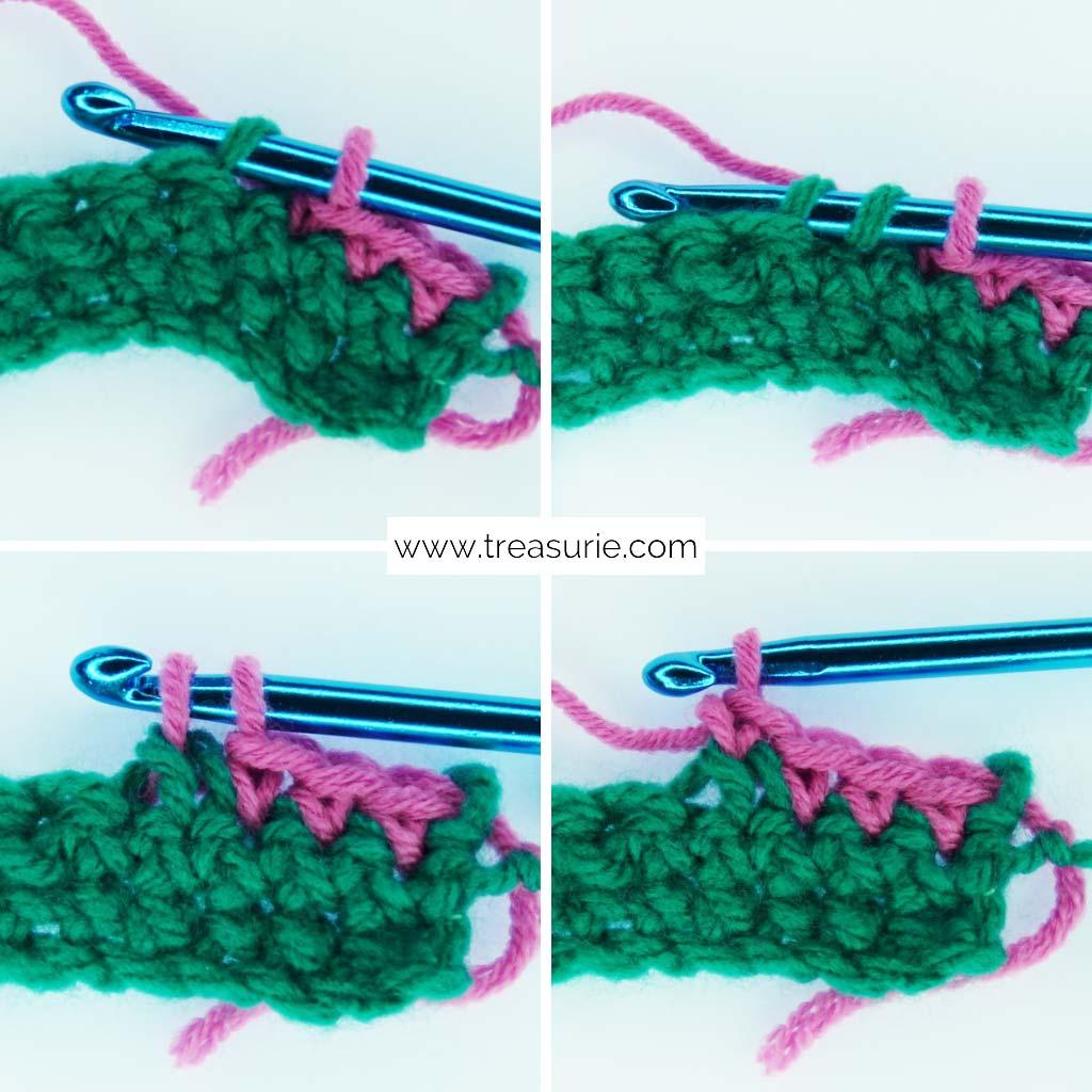 Basic Crochet Stitches - Decreasing