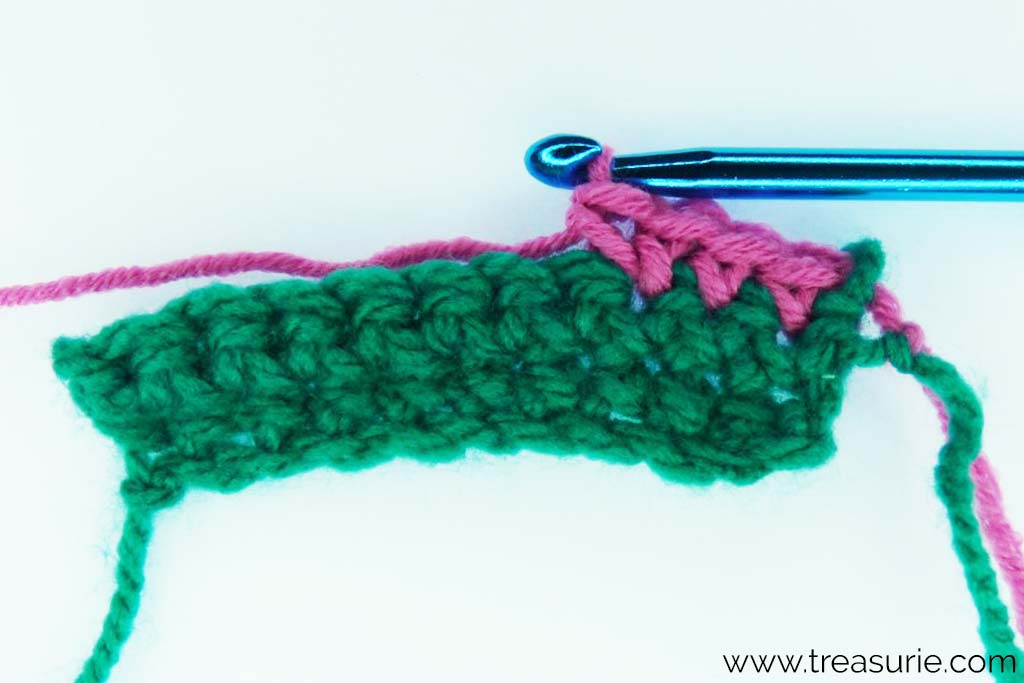 Basic Crochet Stitches - Increasing