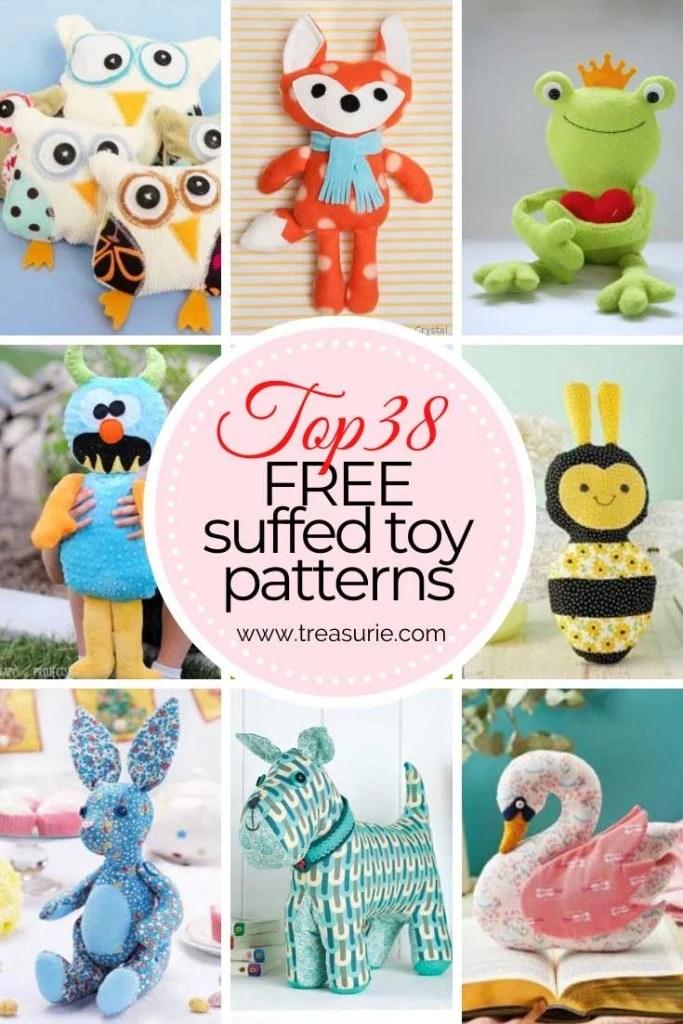 Free Stuffed Toy Patterns