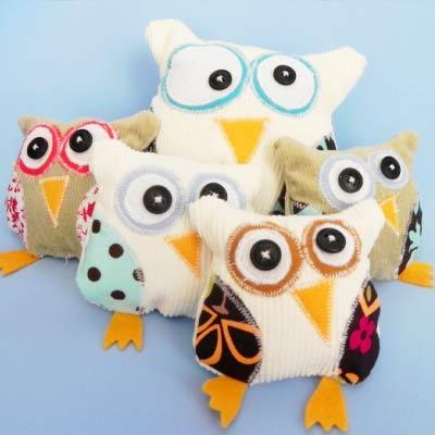 Free Stuffed Animal Patterns from Lily Bird Studio