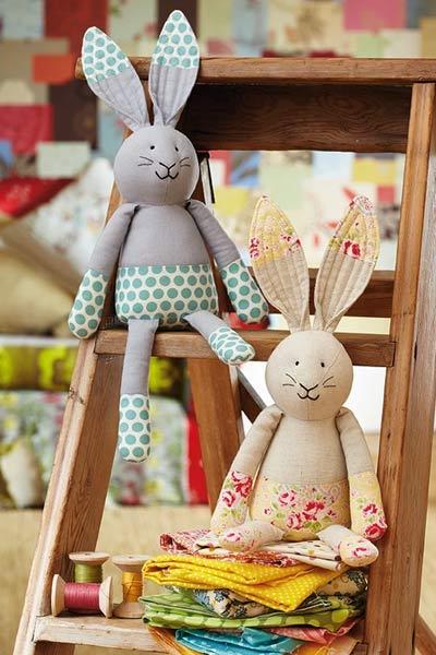 Free Stuffed Animal Patterns from Gathered