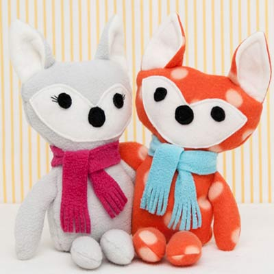 Free Stuffed Animal Patterns from Stitched by Crystal