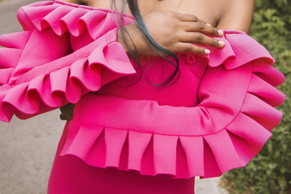 Pleated Types of Ruffles