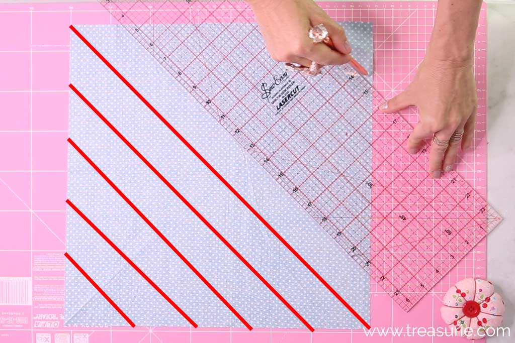 What is Bias Tape - Cutting Strips