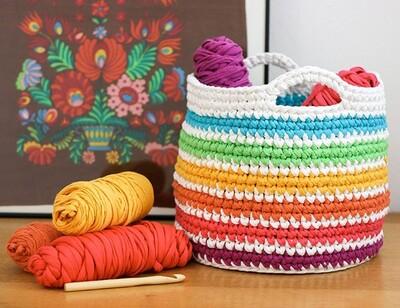 Free Crochet Basket Patterns